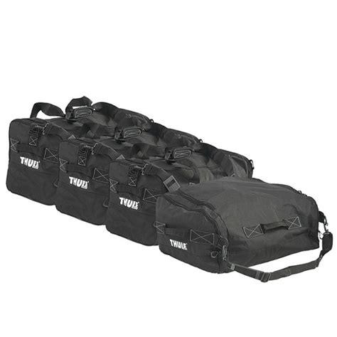 siege complet jeu de sac de rangement gopack set 8006 thule pour coffre