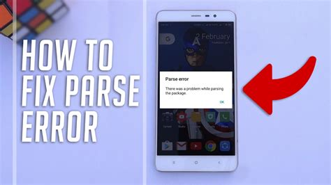 how to fix parse error there was a problem parsing the package while installing android apps