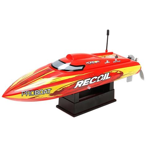 Recoil Rc Boat by Proboat Recoil 17 V Rtr Brushless Boat With 2 4ghz