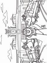 Chuggington Coloring Pages Printable Cartoon sketch template