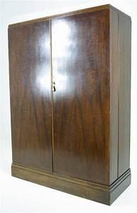 Armoire Art Deco : art deco mahogany compactom armoire wardrobe fitted closet at 1stdibs ~ Melissatoandfro.com Idées de Décoration