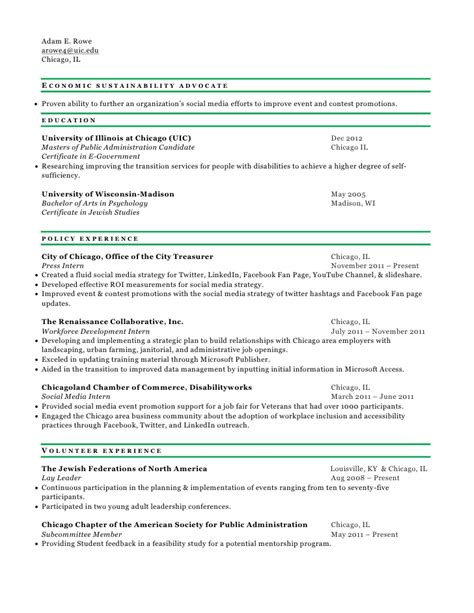 Resume Template Youth Central by Economics Student Resume