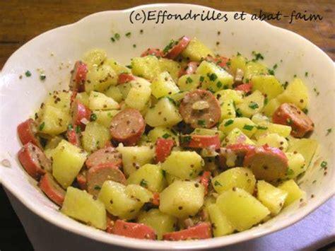 plat rapide a cuisiner les meilleures recettes de salade de pomme de terre