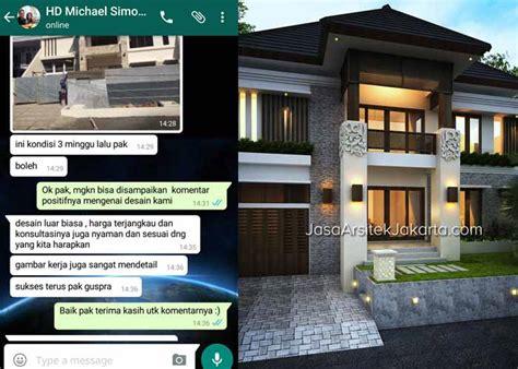 jasa arsitek jakarta desain rumah mewah villa bali modern