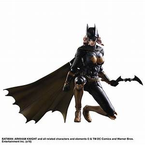 Batman: Arkham Knight - Batgirl Play Arts Action Figure ...