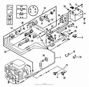 Snapper Lt16001 16 Hp Disc Drive Tractor Series 1 Parts