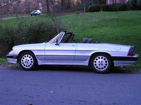 Psteneri 1987 Alfa Romeo Spider Specs, Photos