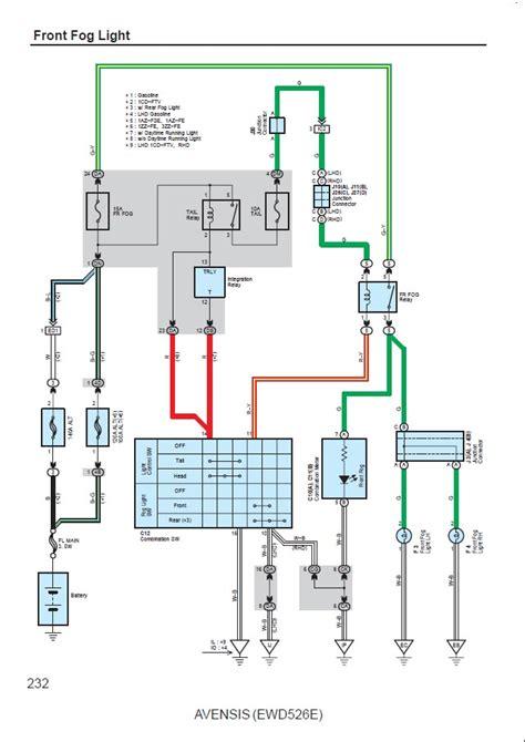 avensis wiring diagram avensis club toyota owners club toyota