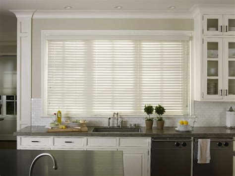Kitchen Horizontal Blinds by 2inch Faux Wood Blinds Ht Blinds