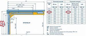 Dimension Porte De Garage Sectionnelle : taille standard porte garage id es de ~ Edinachiropracticcenter.com Idées de Décoration