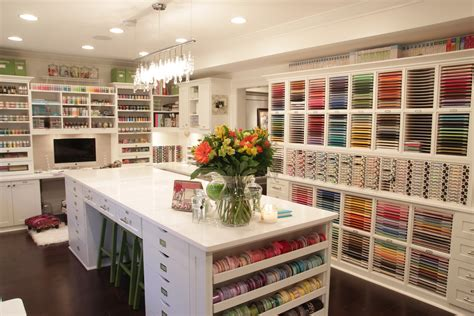 Craft Rooms :  A Photo-tour Of The Papermint Crafting