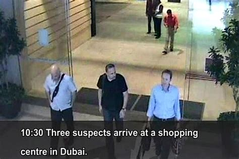 dubai police point  israel  mossad  hamas