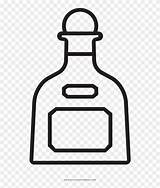Tequila Clipart Bottle Coloring Pngfind Clipground sketch template