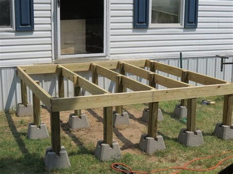 How To & Repair  How To Build A Deck Step By Step Wooden