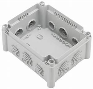 Boite De Derivation Electrique : boite rectangulaire 180x140x86 tanche plexo gris legrand ~ Dailycaller-alerts.com Idées de Décoration