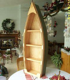cm wooden blue white rowing boat shelves nautical