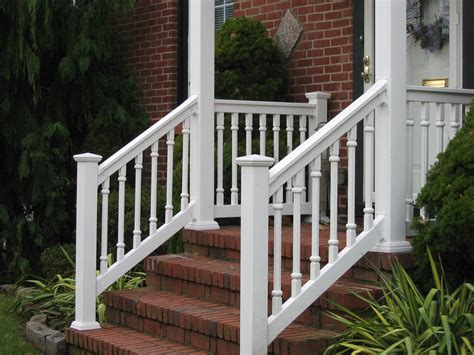 vinyl porch railing pvc porch railings and posts