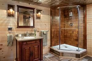 Log, Home, Bathroom, Design, Ideas