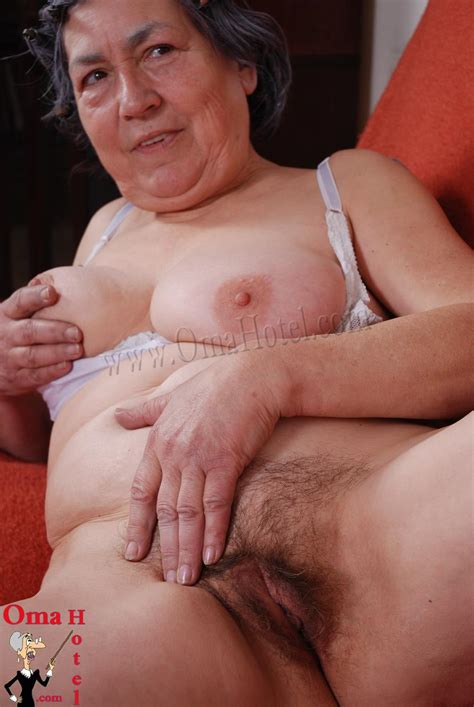 Old Naked Granny