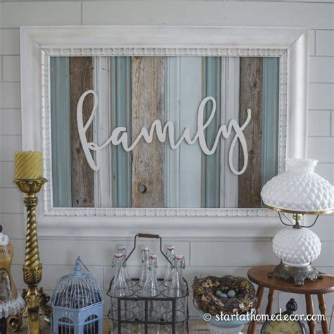 Reclaimed Wood Signs  Start At Home Decor