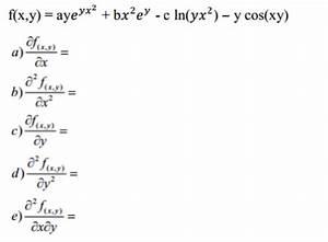 Partielle Ableitung Berechnen : partielle ableitung bestimmen sie die erste und zweite ~ Themetempest.com Abrechnung
