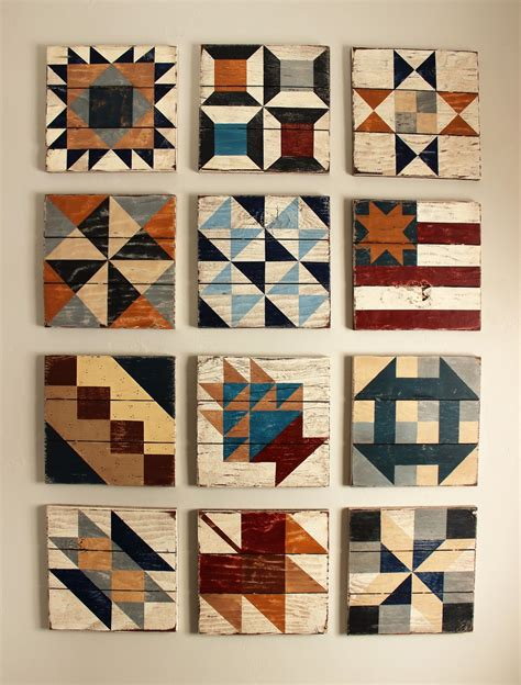 Painted Barn Quilts by Tweetle Design Co Barn Quilt Civil War Collection