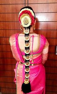 Tamil Wedding Hairstyle With Flowers HairStyles