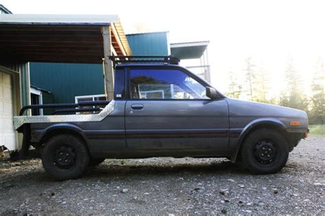 subaru justy lifted just us justy 39 s d the official justy owners club page