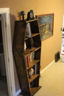 buy custom  coffin bookcase   order
