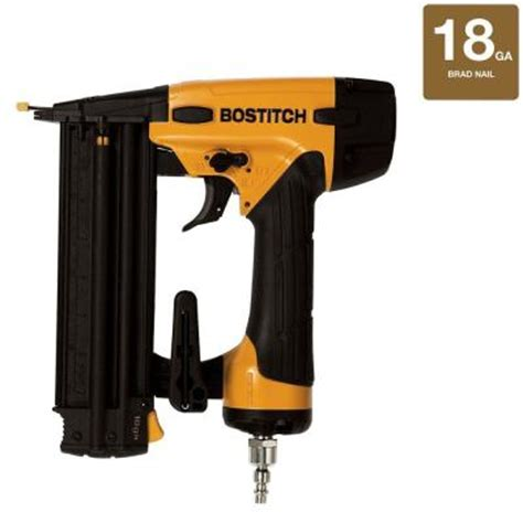 Bostitch Flooring Nailer Home Depot by Bostitch 18 5 8 In 2 1 8 In Brad Nailer Bt1855k