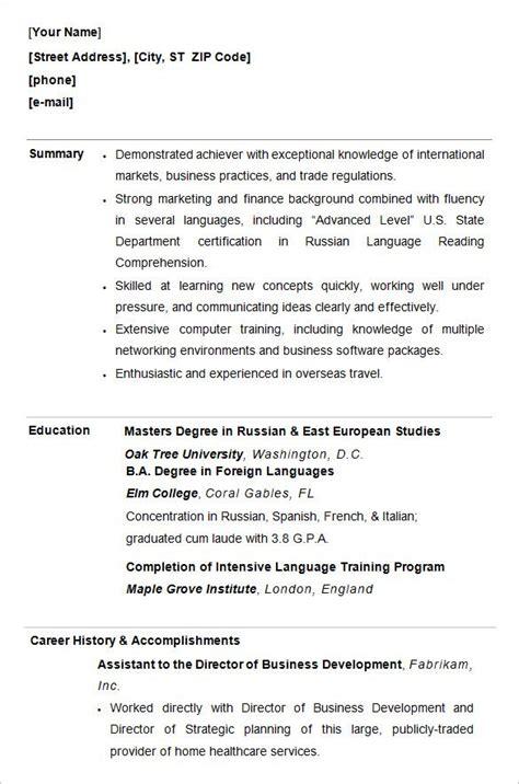 college resume ideas  pinterest resume