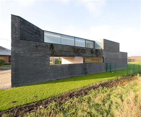 Interesting Home By Modern Belgian Architecture Firm