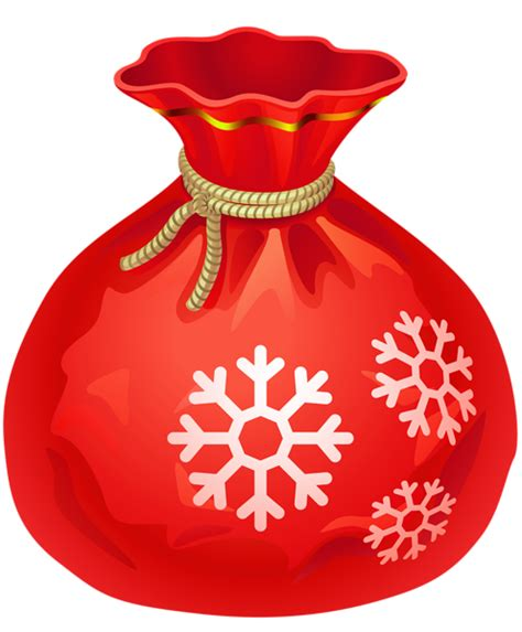red santa sack for babies pictures transparent santa bag png clipart gallery yopriceville high quality images and