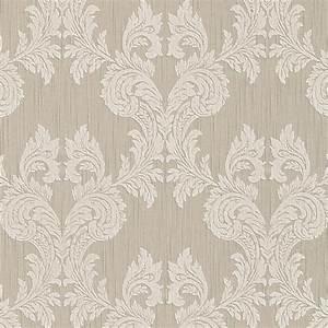 Hochwertige tapeten und stoffe stofftapete mit barock for Balkon teppich mit barock tapete