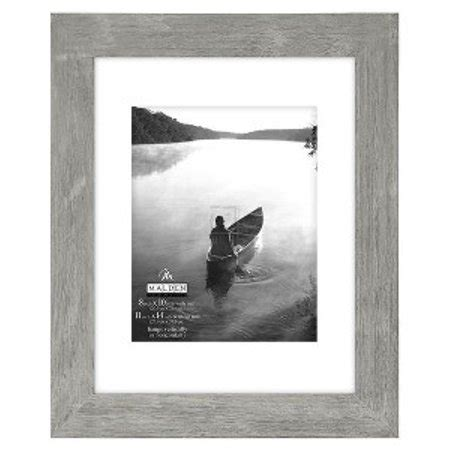 frame matted to 11x14 8x10 11x14 gray matted picture frame walmart