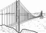 Bridge Gate Golden Malvorlage Malvorlagen San Francisco Pages Outline Coloring Ausmalbilder Ausmalen Ausmalbild Kostenlose Seite Artikel Von sketch template