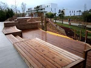 Mobilier Bois Design : mobilier urbain bois collectivit sle ~ Melissatoandfro.com Idées de Décoration
