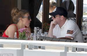 wayne coleen lunch rooney stopped grabbed purchases bite designer together between