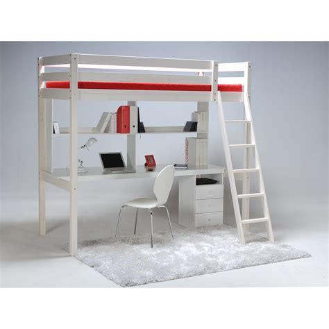 mezzanine ado bureau lit mezzanine ado avec bureau et rangement fabulous