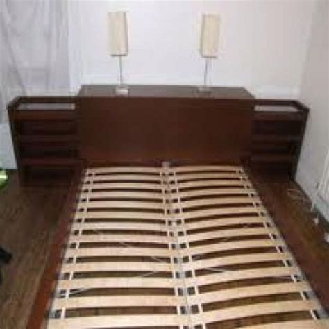 Malm Bookcase by Ikea Malm Bookcase Headboard Combo For The Home