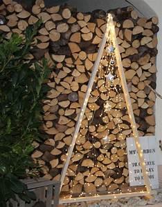 Weihnachtsbaum Aus Holzlatten : 35 besten weihnachtsbeleuchtung garten und bilder auf pinterest garten und ~ Markanthonyermac.com Haus und Dekorationen