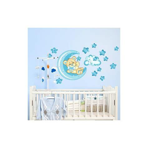 sticker ourson chambre b stickers chambre bébé ourson pour un sommeil épanoui