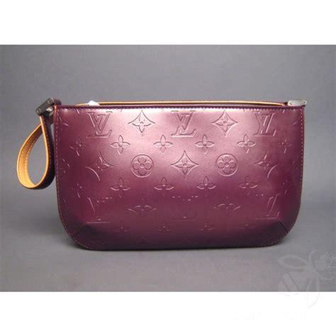louis vuitton violet monogram leather mat fowler shoulder bag