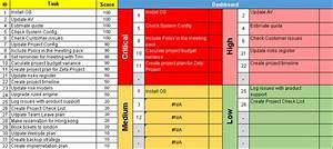 great priority matrix template photos example resume With prioritizing tasks template