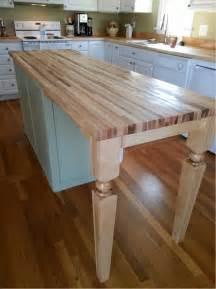 kitchen island legs maple island leg a fit for kitchen design