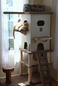 Arbre A Chat En Palette : 123 best images about cat enclosures chicken coops on pinterest cat shelves cat houses and cats ~ Melissatoandfro.com Idées de Décoration