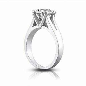 133 ct ladies round cut diamond solitaire engagement ring for Wedding ring description