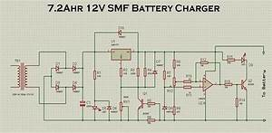 Super Circuit Diagram  Build A 12v 7 2ah Smf Battery