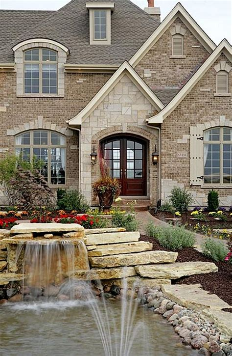 1000+ Ideas About Brick Exteriors On Pinterest  House