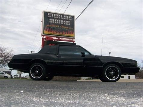 Purchase Used 81 Chevy Monte Carlo 28k Restoration T-tops